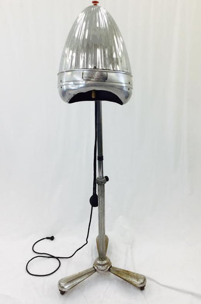 Converted Newmatic Floor Lamp