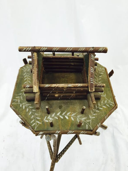 Old Tramp / Folk Art Twig Table