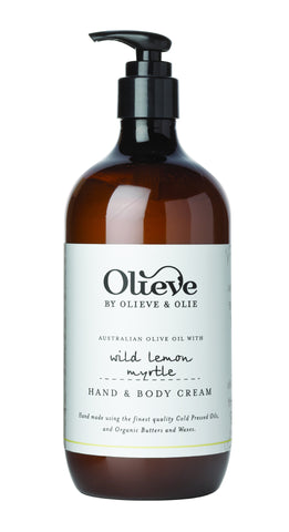 Olieve & Olie Hand & Body Cream Pump