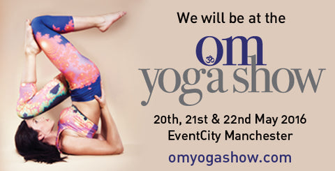 Moonchild Yoga Wear - OM Yoga Show in Manchester 2016