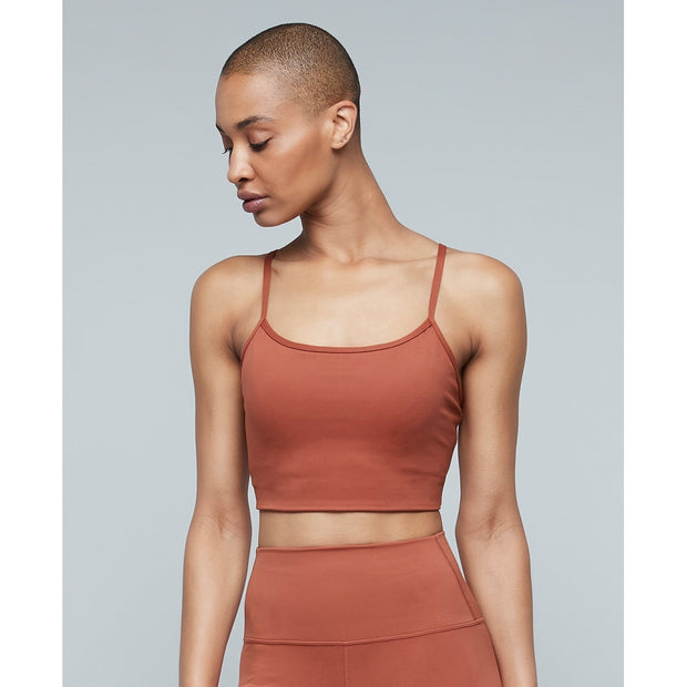 Moonchild Yoga Wear Lunar Luxe Bra Top Lunar Luxe Top Burnt Sienna