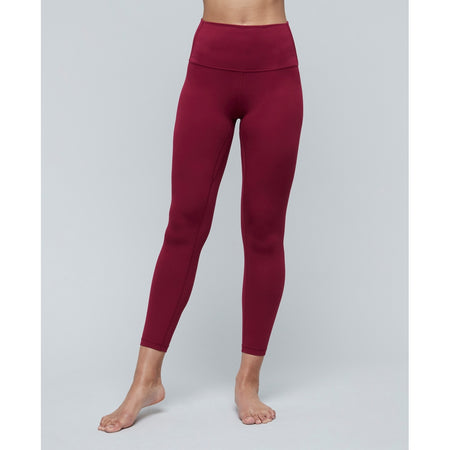 Moonchild Yoga Wear Lunar Luxe Legging Legging Persian Red