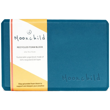 Moonchild Yoga Wear Moonchild Foam Block Yoga Block Ivy