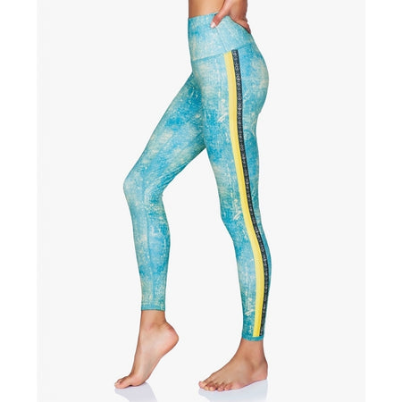 Printed Leggings - Peace Warrior II - Moonchild Yoga Wear