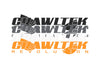"CrawlTek Revolution - 22"" Vinyl Windshield Banner - CrawlTek Revolution"