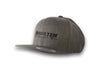 CrawlTek Revolution - Snapback Hat - Dark Heather - CrawlTek Revolution