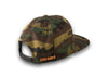 CrawlTek Revolution - Snapback Hat - Green Camo - CrawlTek Revolution