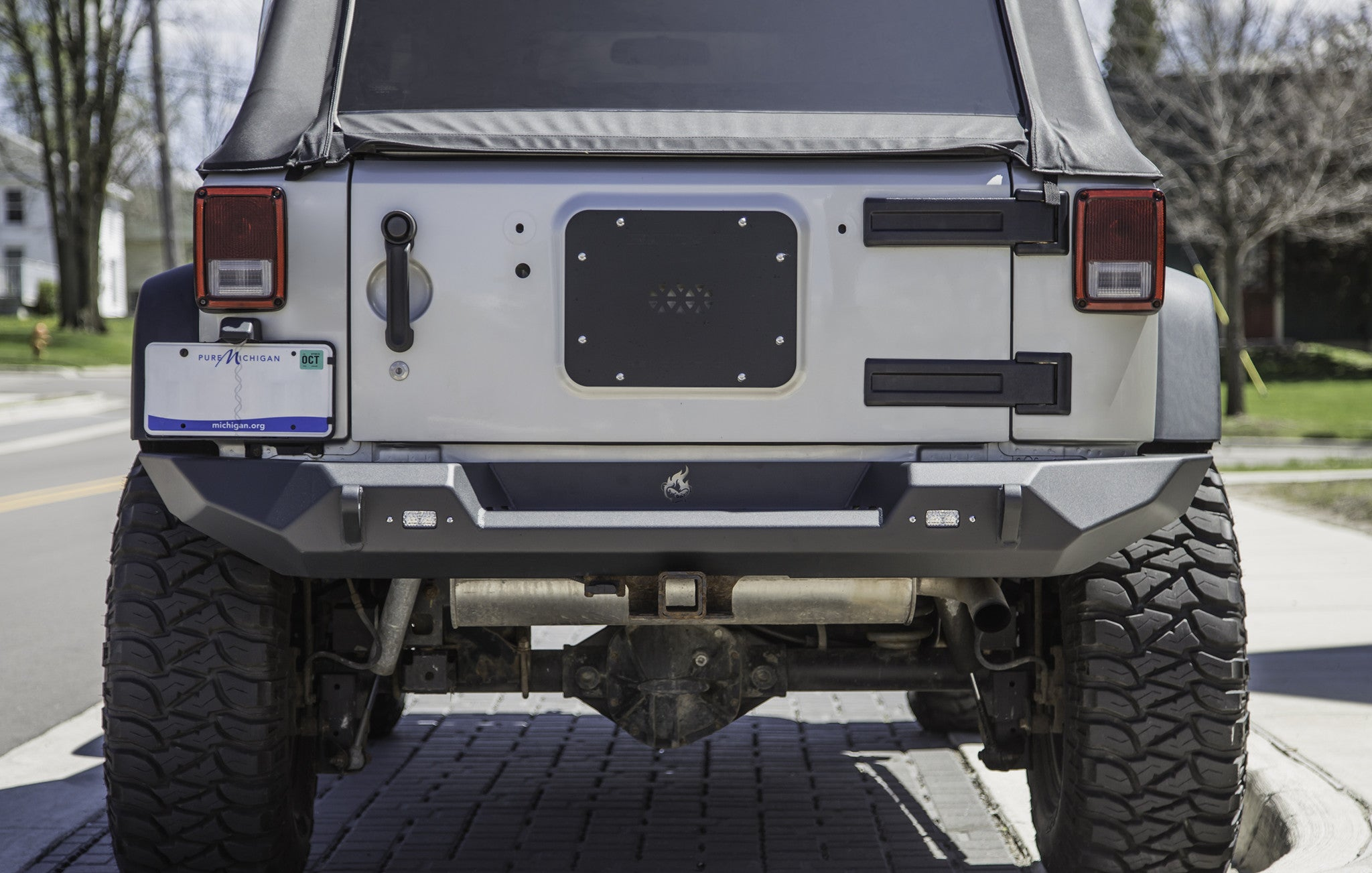 wrangler for front plate led bumpers details eag jk jeep itm bumper width with about full winch