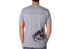Men's CrawlTek Revolution V-Neck Tee - Heather Gray - CrawlTek Revolution