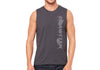 Men's CrawlTek Revolution - Black Heather Men's Muscle Tee - CrawlTek Revolution