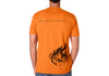 Men's CrawlTek Revolution Crew Neck Tee - Orange - CrawlTek Revolution