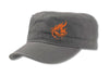 CrawlTek Revolution - Military Cap - Gray - CrawlTek Revolution