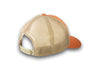 CrawlTek Revolution - Snapback Hat - Rustic Orange/Khaki - CrawlTek Revolution