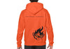 Unisex CrawlTek Revolution Hoodie - Orange - CrawlTek Revolution