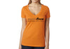 Women's CrawlTek Revolution V-Neck Tee - Orange - CrawlTek Revolution