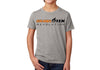 Kid's CrawlTek Revolution Crew Neck Tee - Heather Gray - CrawlTek Revolution