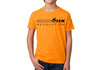 Kid's CrawlTek Revolution Crew Neck Tee - Orange - CrawlTek Revolution