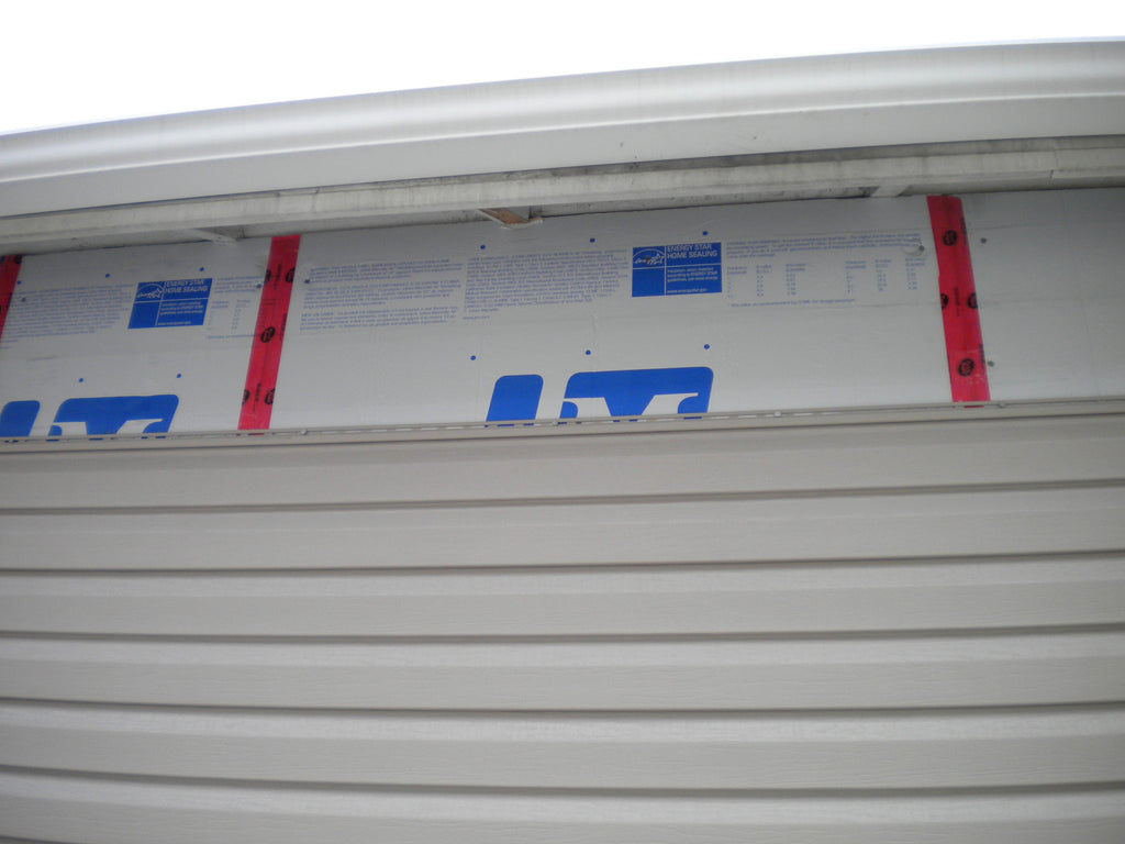 INSULATION UNDER THE SIDING