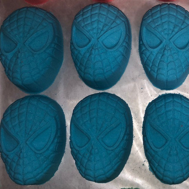 Bath Bomb -Spiderman (Blue)