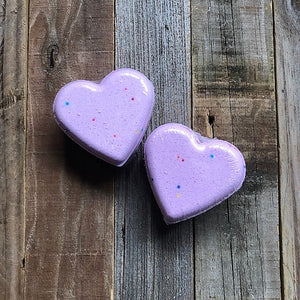Heart Bath Bomb - Bunny Kisses