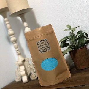 Bath Bomb Dust - ADULT Almond Milk Sea Salt & Epsom Salts