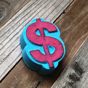 Foaming Bath Bomb - Caribbean Coconut  Dollar Sign