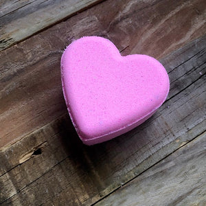 Heart Bath Bomb - Bling Bomb