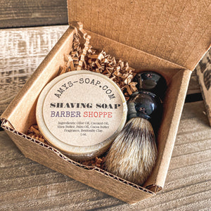 Shaving Soap Gift Box