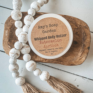 Whipped Body Butter - Watermelon Apricot
