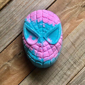 Foaming Bath Bomb - Cotton Candy Spider-Man