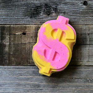 Foaming Bath Bomb - Satsuma Guava Dollar Sign