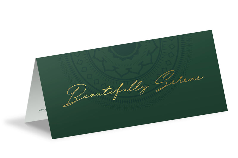 One Wybelenna Gift Certificate for Brow Sculpting