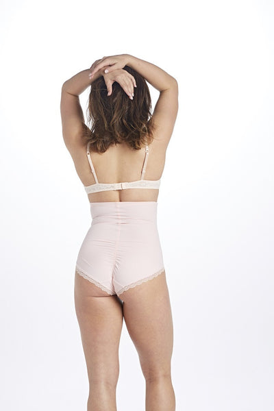 The Zazie Color-Block High-Waisted Lower Tummy Control Full Bottom Panties