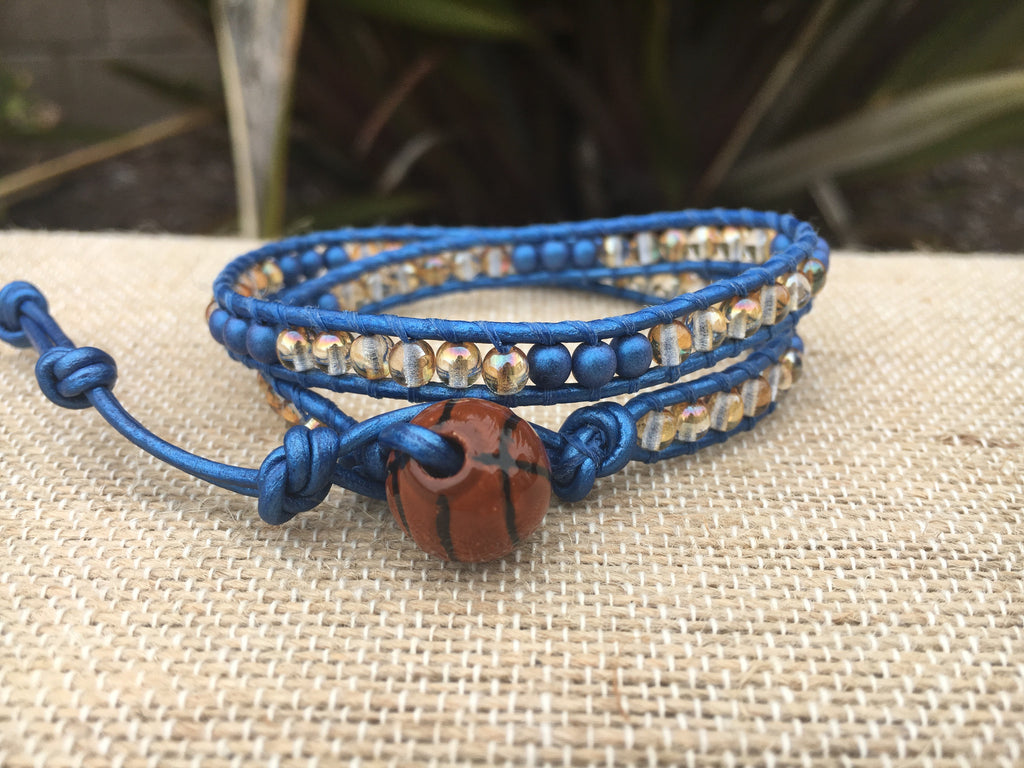 2-Wrap - Warriors Bracelet