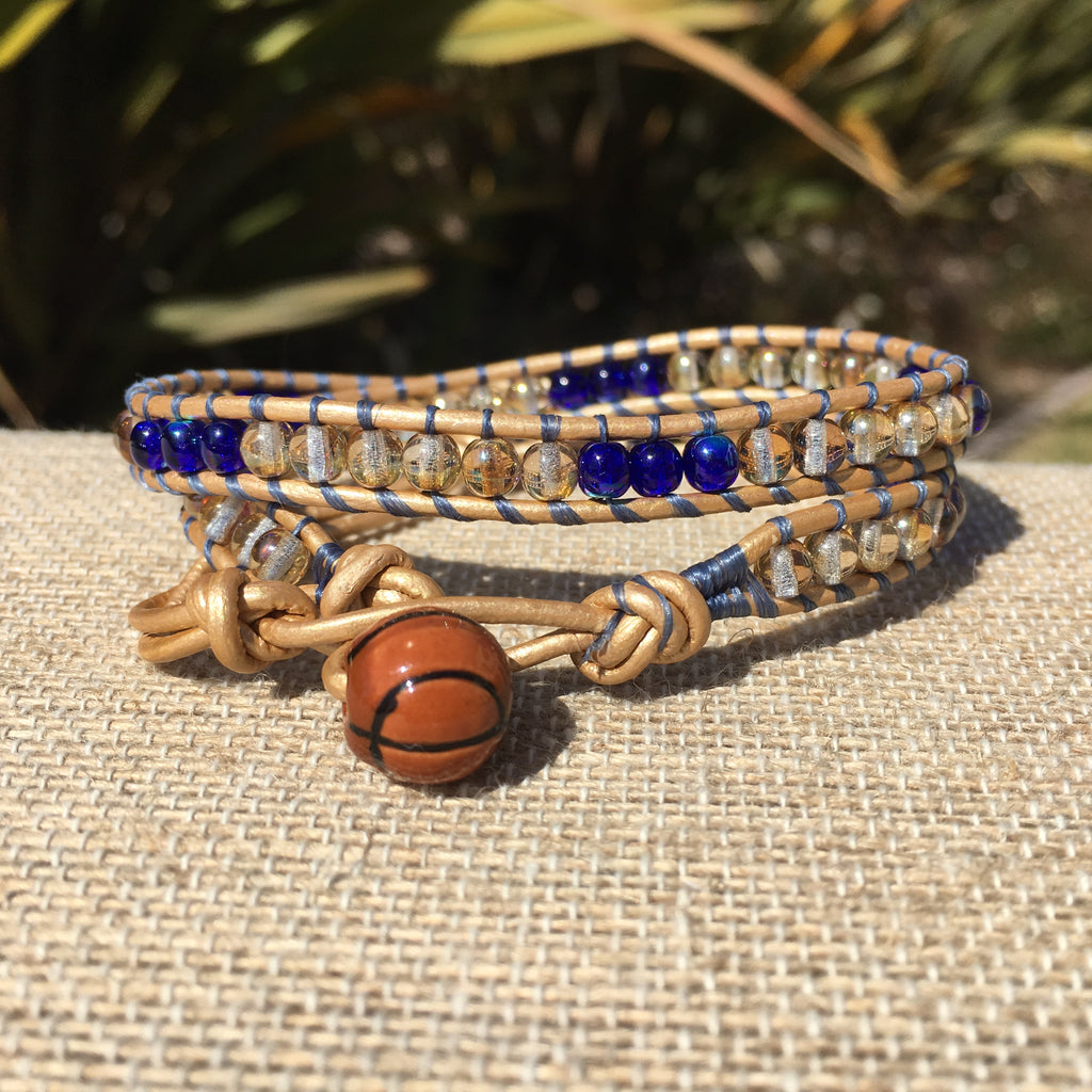 2-Wrap - Golden State Warriors Bracelet variation