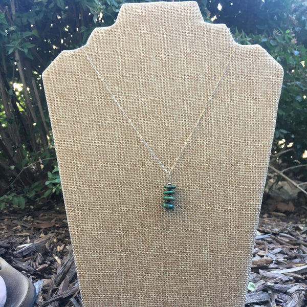 Stacked Turquoise Necklace