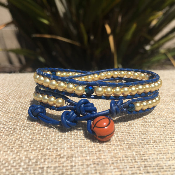 2-Wrap - Golden State Warriors Bracelet #4