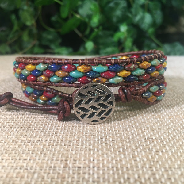 2-Wrap Bracelet - Primarily Primary Super Duo #2