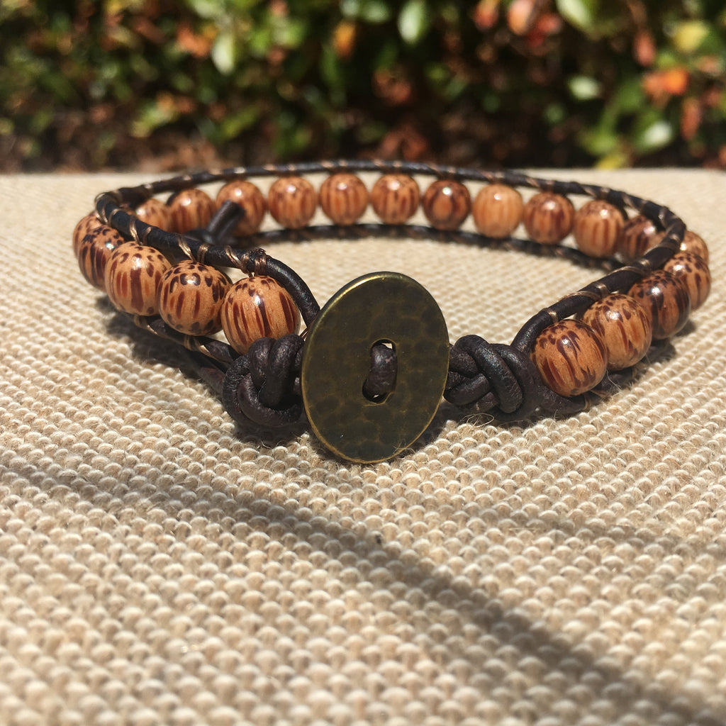 Single Wrap - Unisex/Men's - Palm Wood