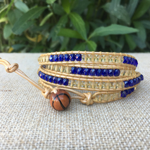 4-Wrap - Golden State Warriors Fan Bracelet