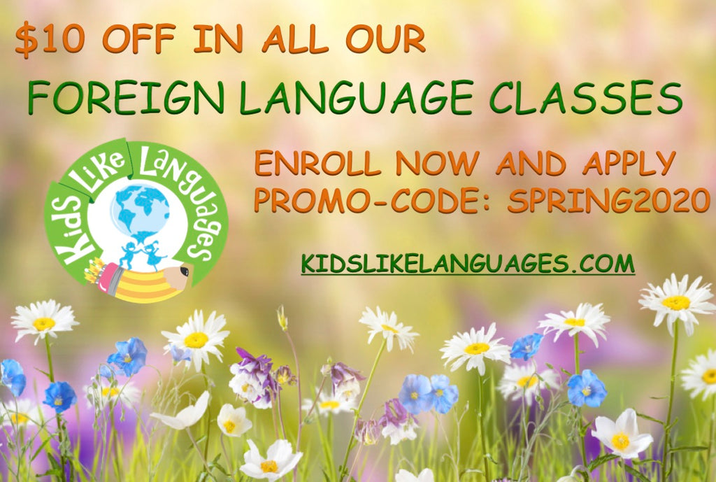 SPRING CLASSES ARE HERE!!!