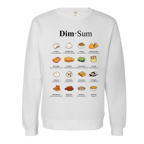 Dim Sum - What To Order? Crewneck Sweatshirt