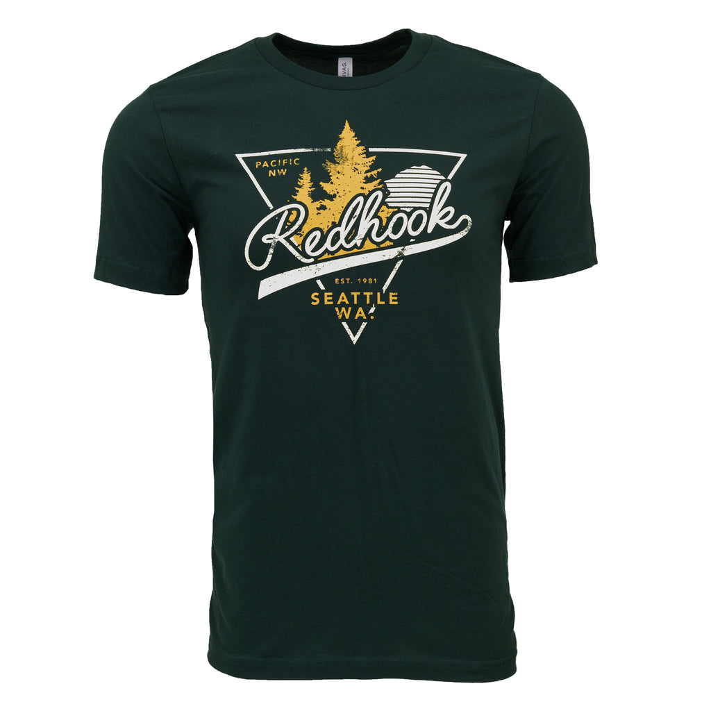 Redhook PNW Tee - Forest Green