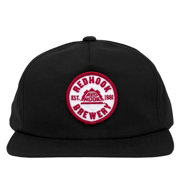 Redhook Patch Hat - Black