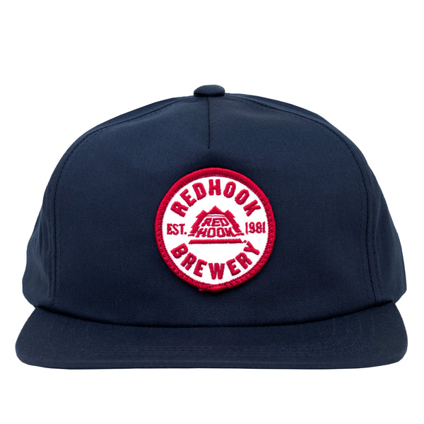Redhook Patch Adjustable Hat - Navy