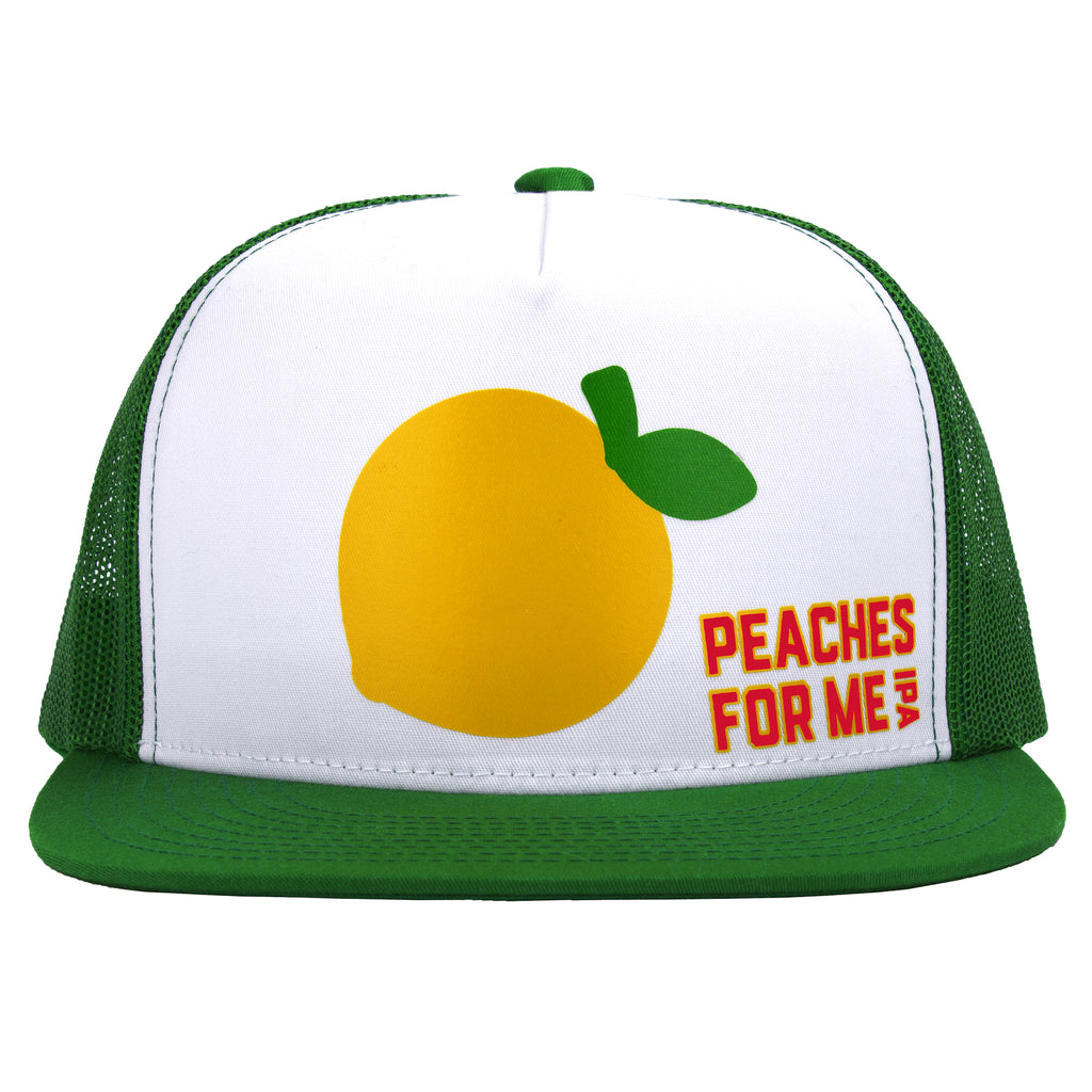 Peaches For Me Adjustable Trucker Hat