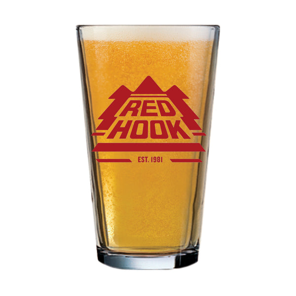 Redhook Logo Pint Glass