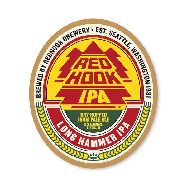 Long Hammer IPA Sticker