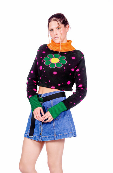 Flower Crop sweater