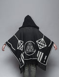 Reptilectric Hooded Poncho